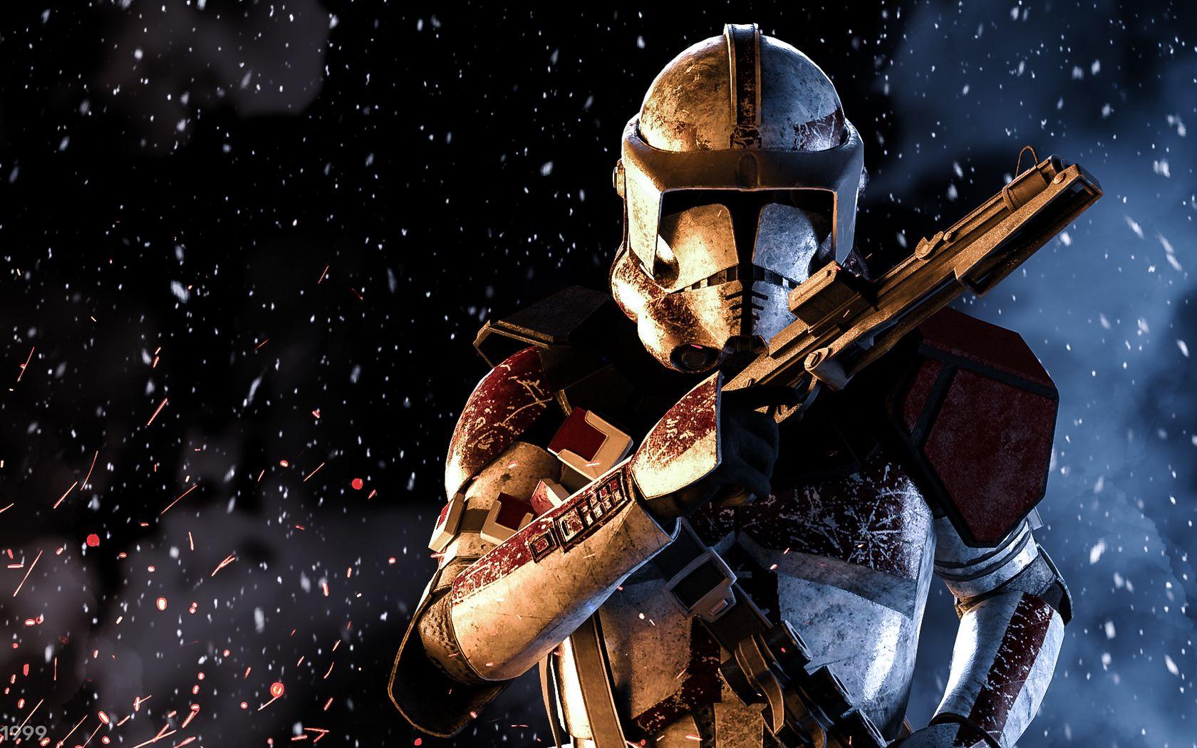 Clone Trooper Wallpaper – Super Cool Background for Your Desktop