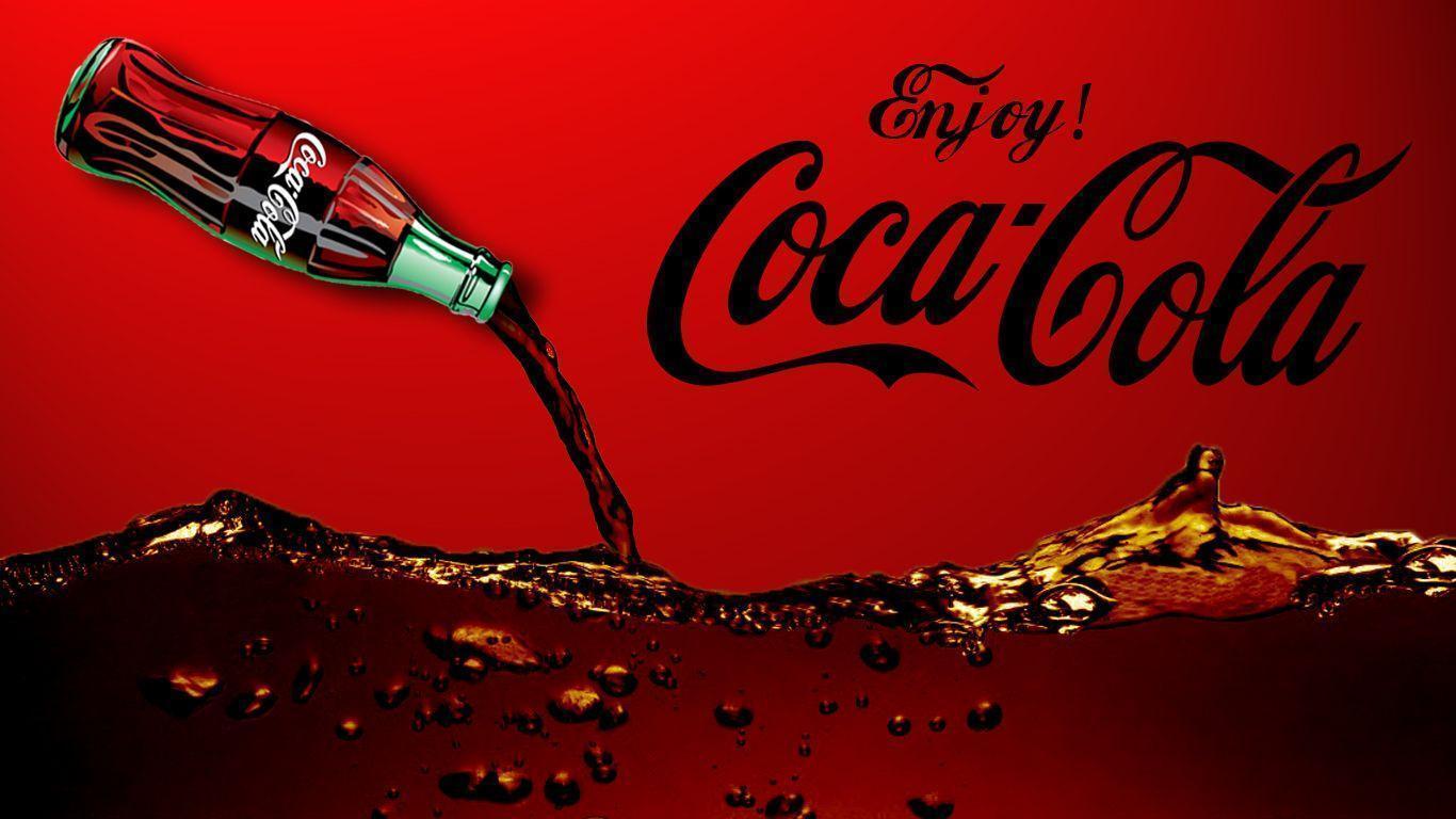 Coca Cola background – Creates a Great Theme Decoration