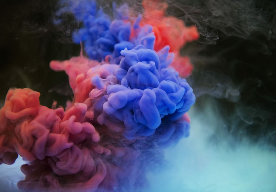 Give Your Computer a Makeover With Colorful Smoke Wallpaper