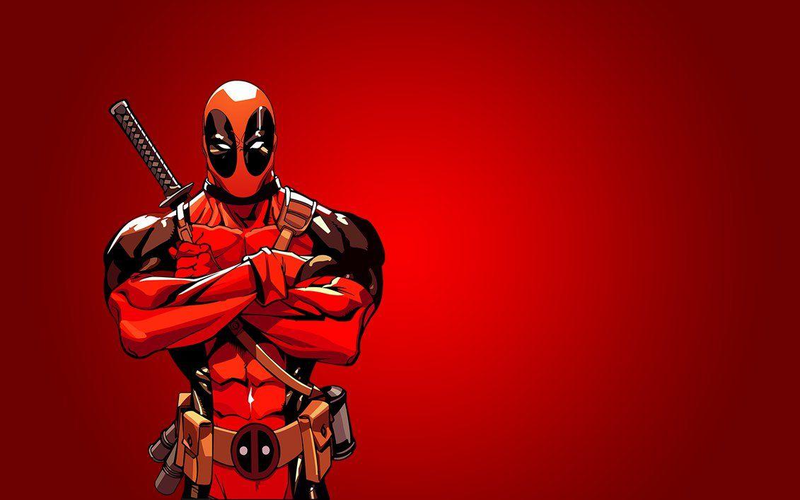 Cool Deadpool Background for Your Desktop