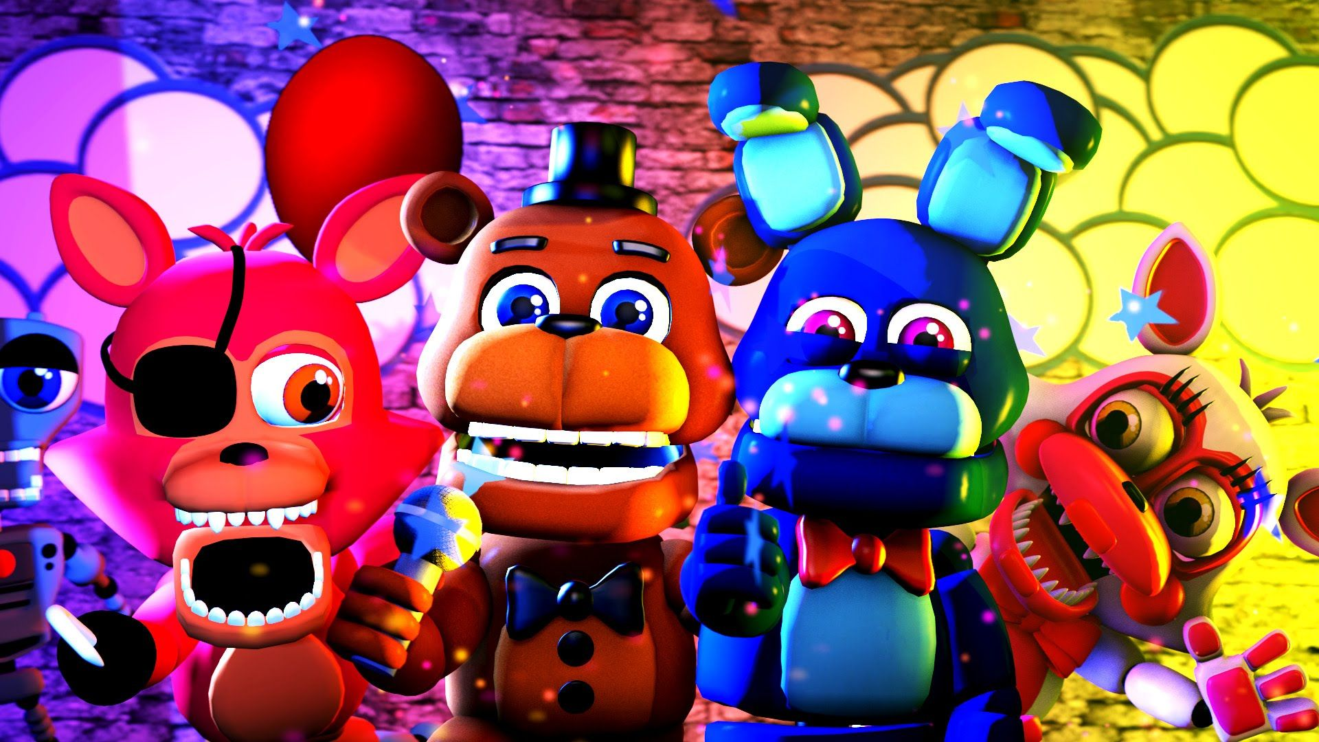 Why Cute FNAF Wallpaper Good background For You!