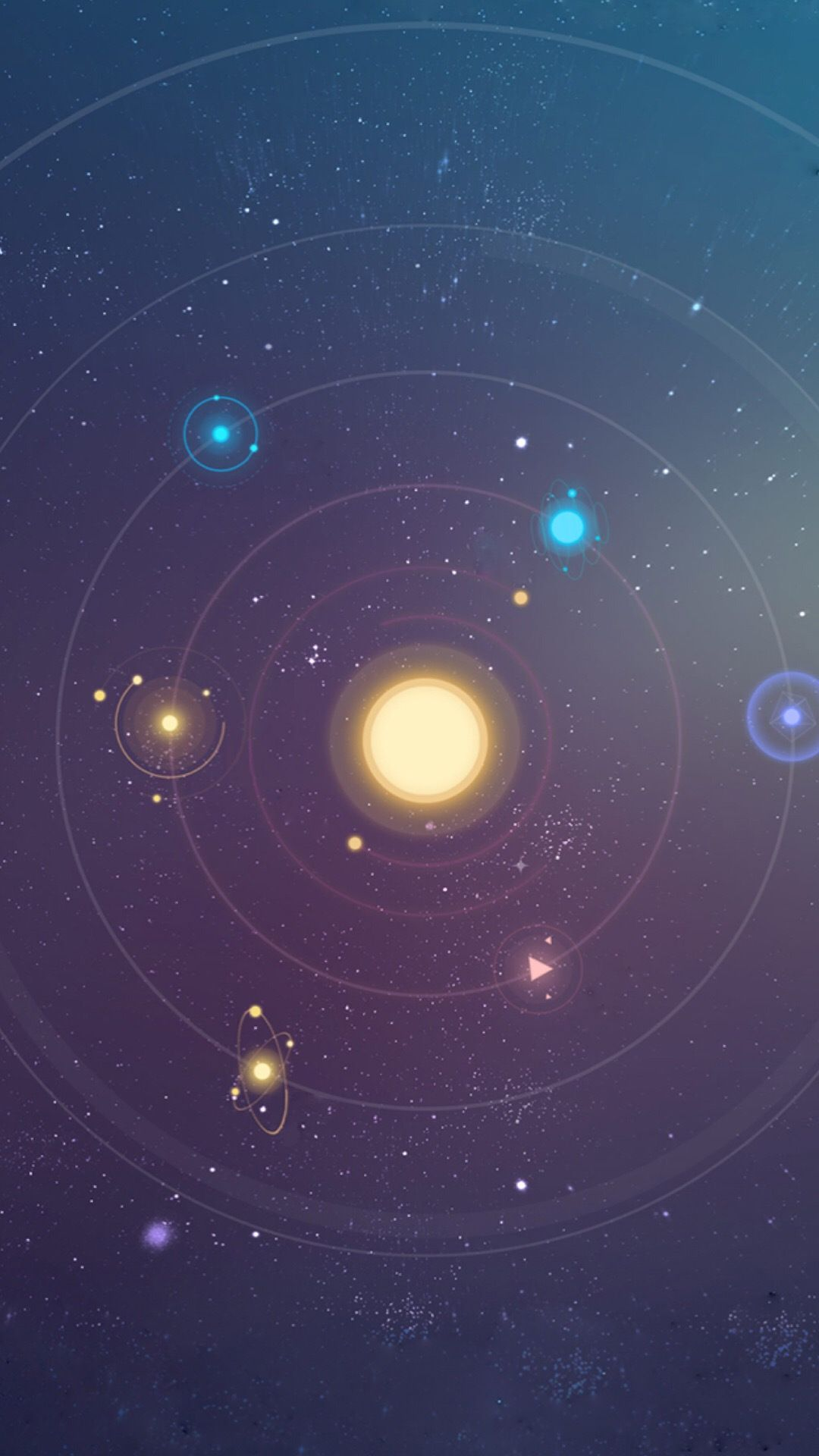 Cute Space Wallpaper Background for Your Android