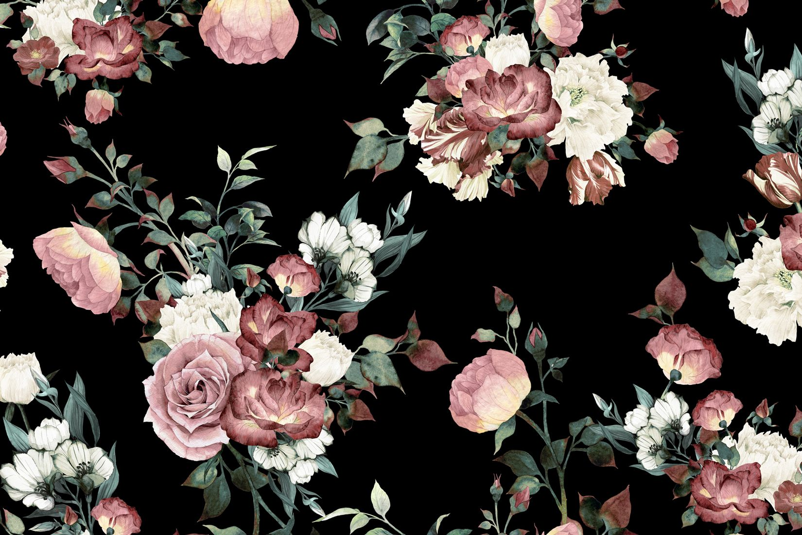 Inspiring Picture design – Chooses the Dark Floral Picture designs