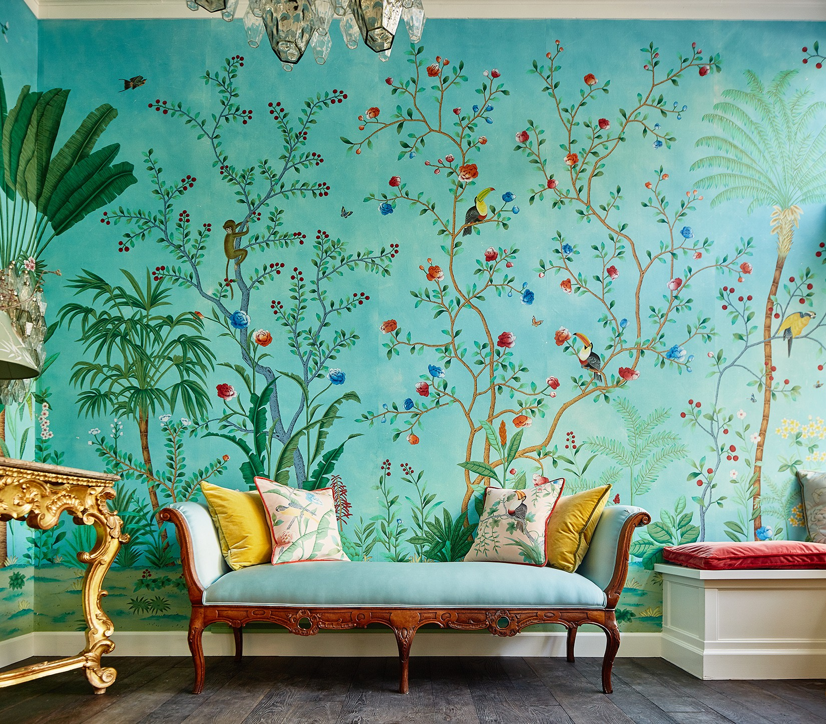 The History of De Gournay Wallpaper
