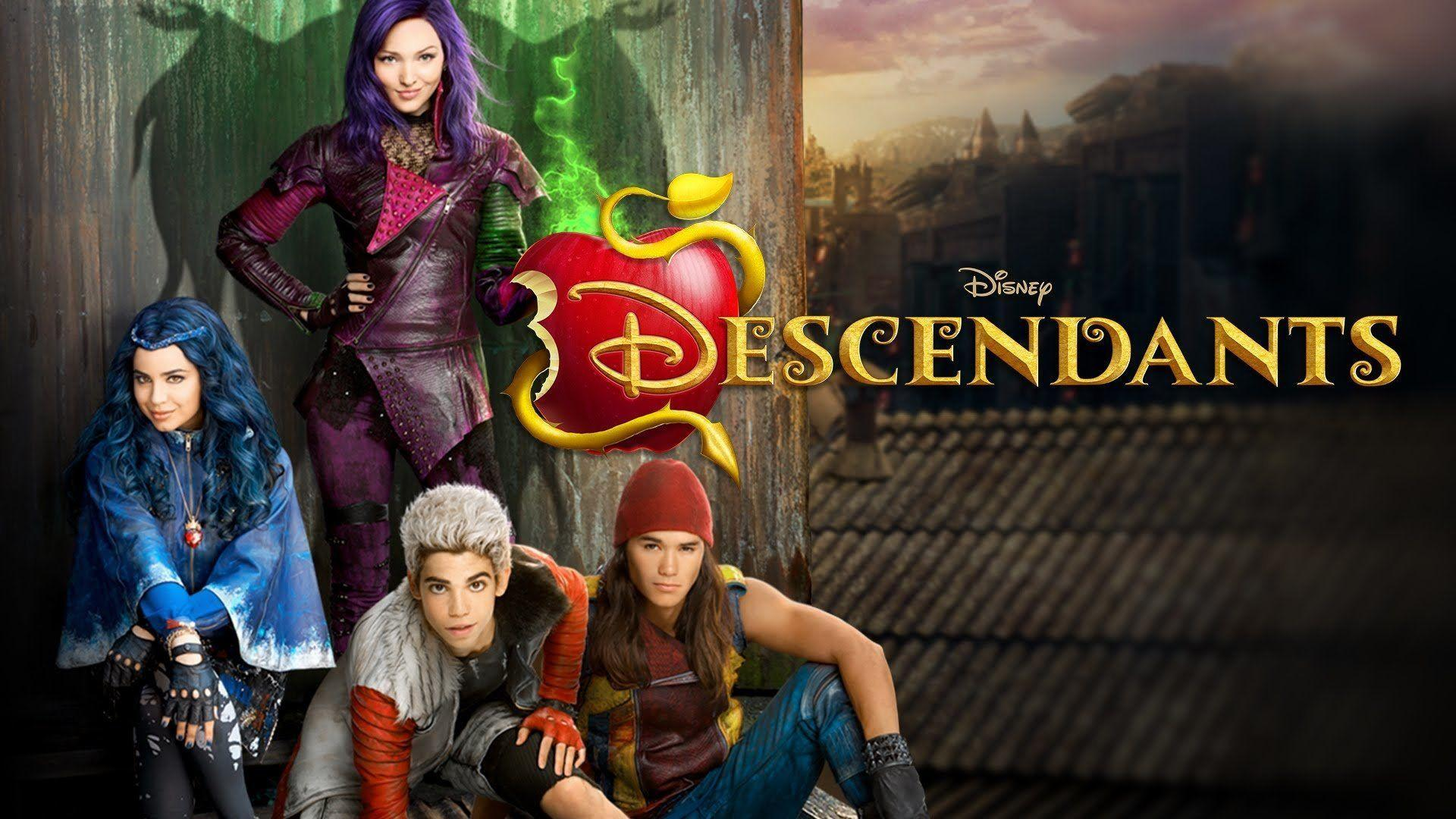 Is the Mobile Background Imaging the Descendants wallpaper?