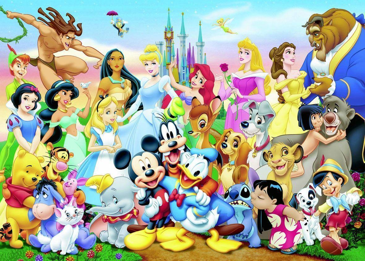 Disney Characters wallpaper – Add Fun to Your Rooms With Wallpaper From Disney