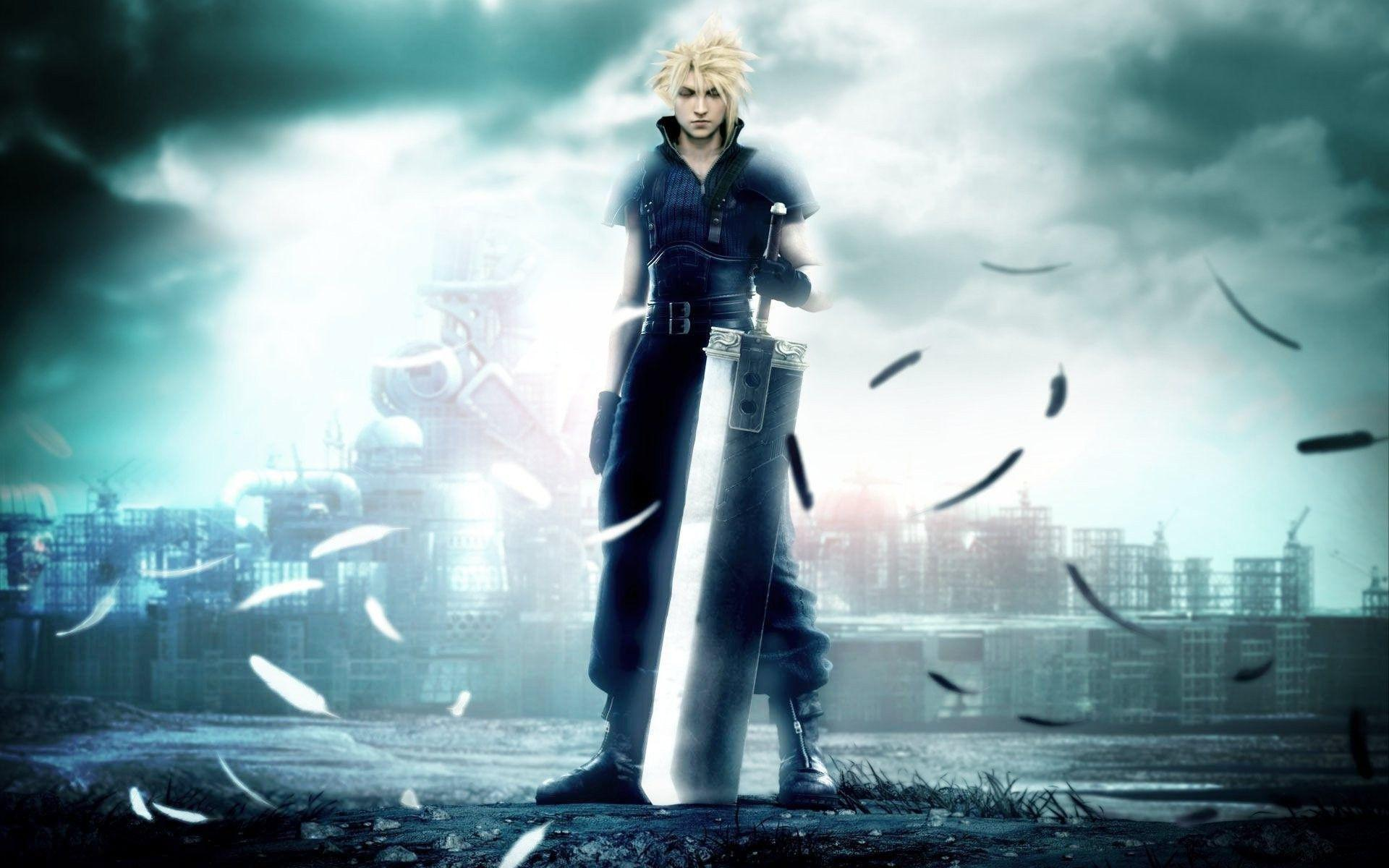 Newest Game In Final Fantasy Series – FF7 Wallpaper