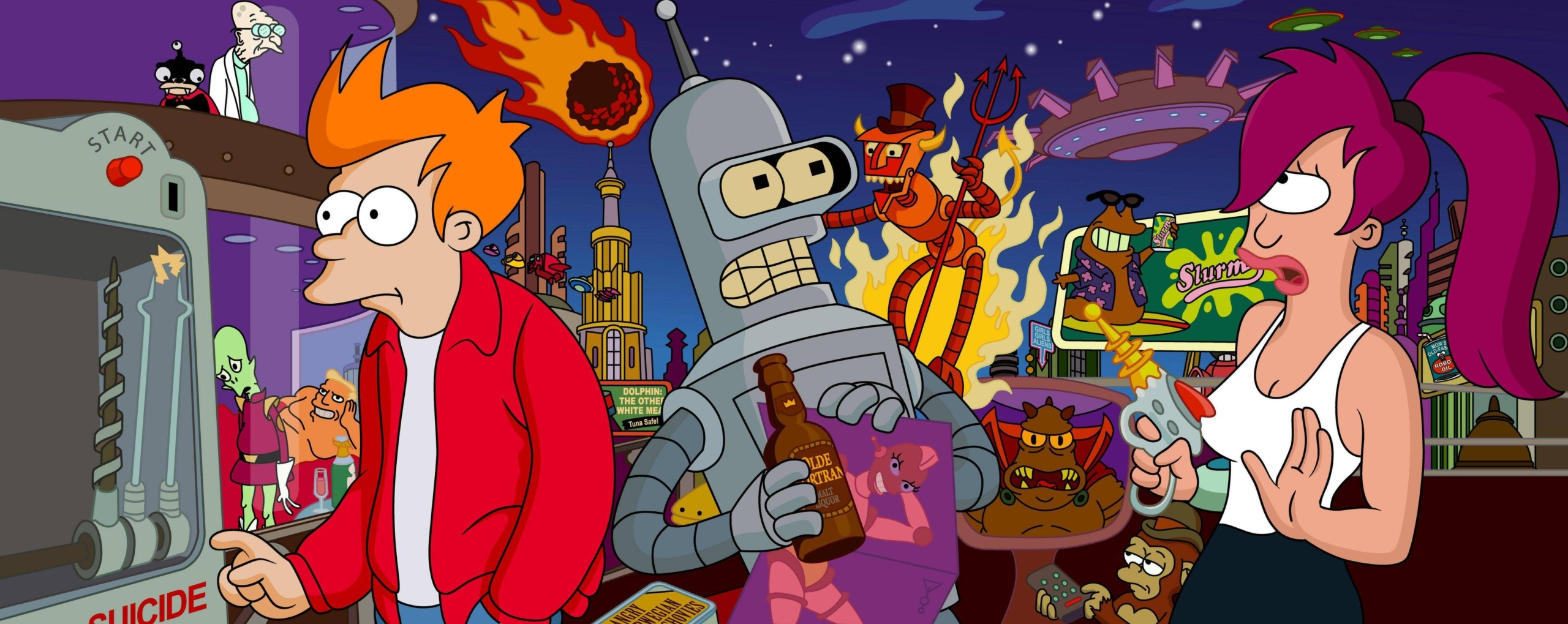 Futurama background Ideas – Wonderful Picture designs To Make Your Computer Really Stand Out