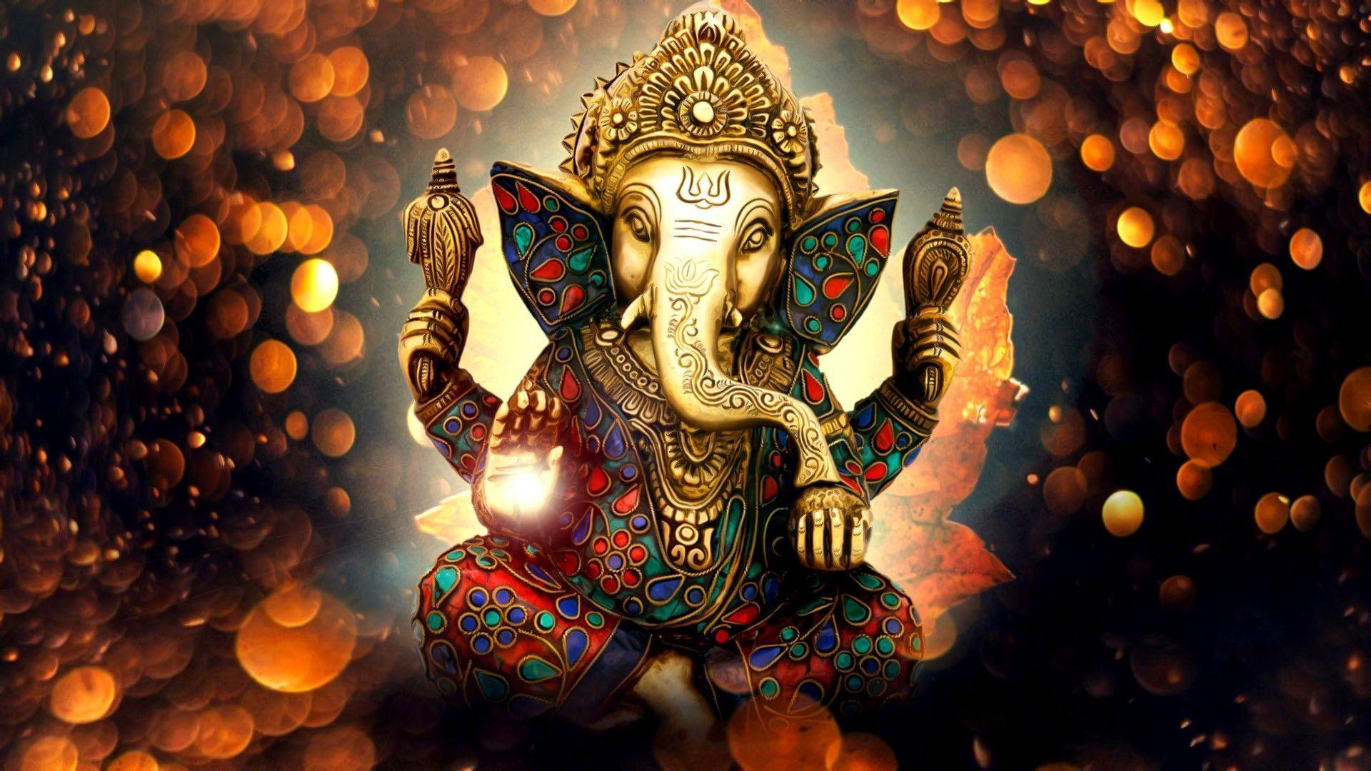 Attractive Ganesh Wallpaper