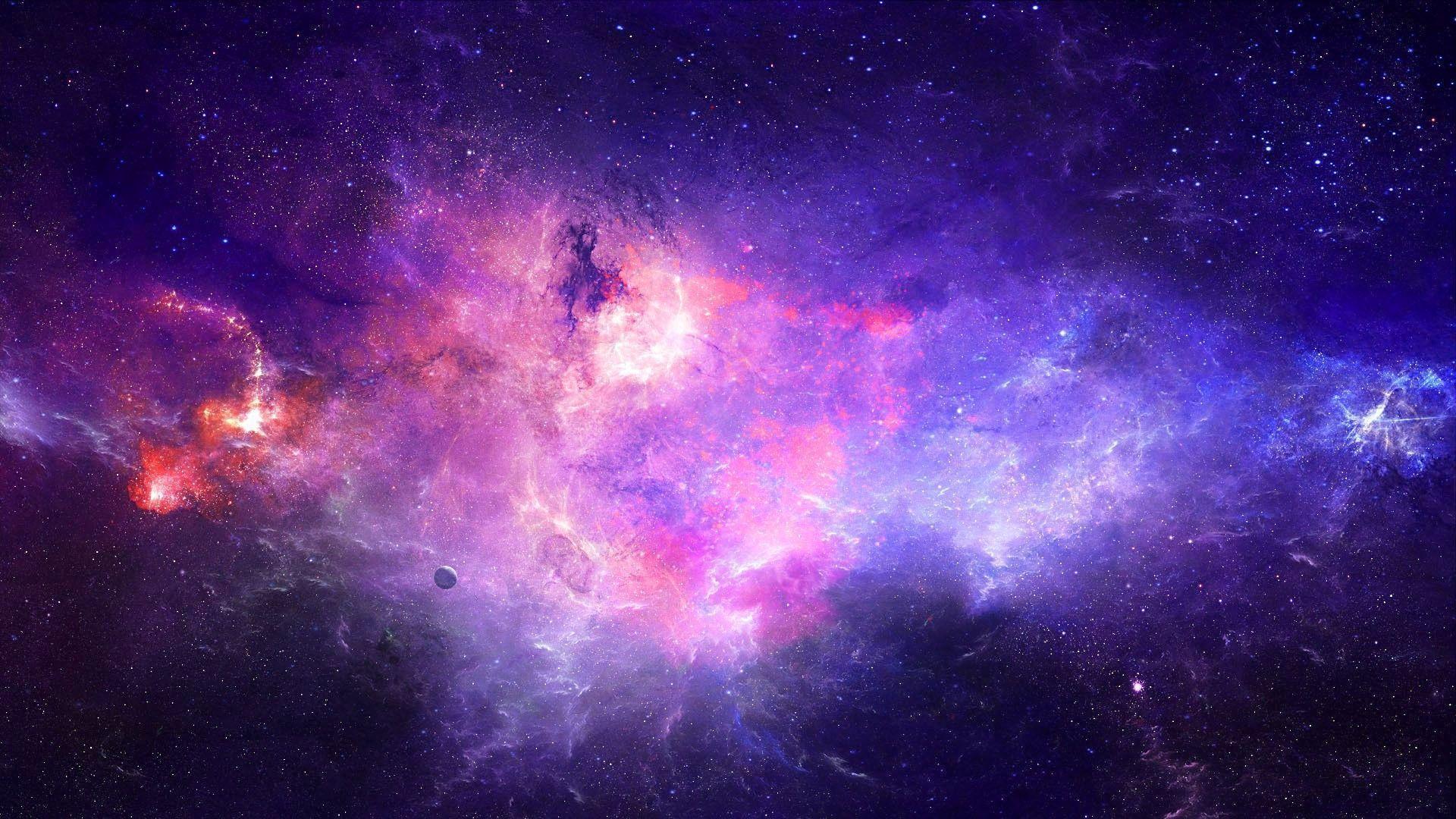 Perfect Girly Galaxy Wallpaper Designs