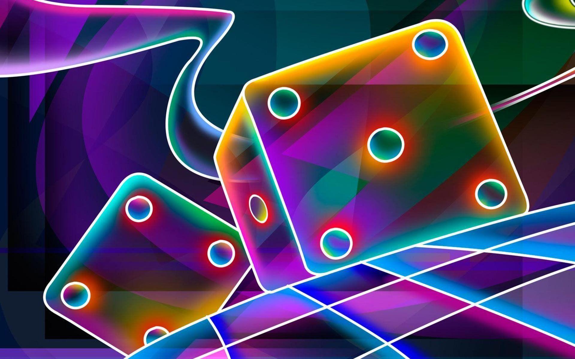 glowing wallpaper design ideas