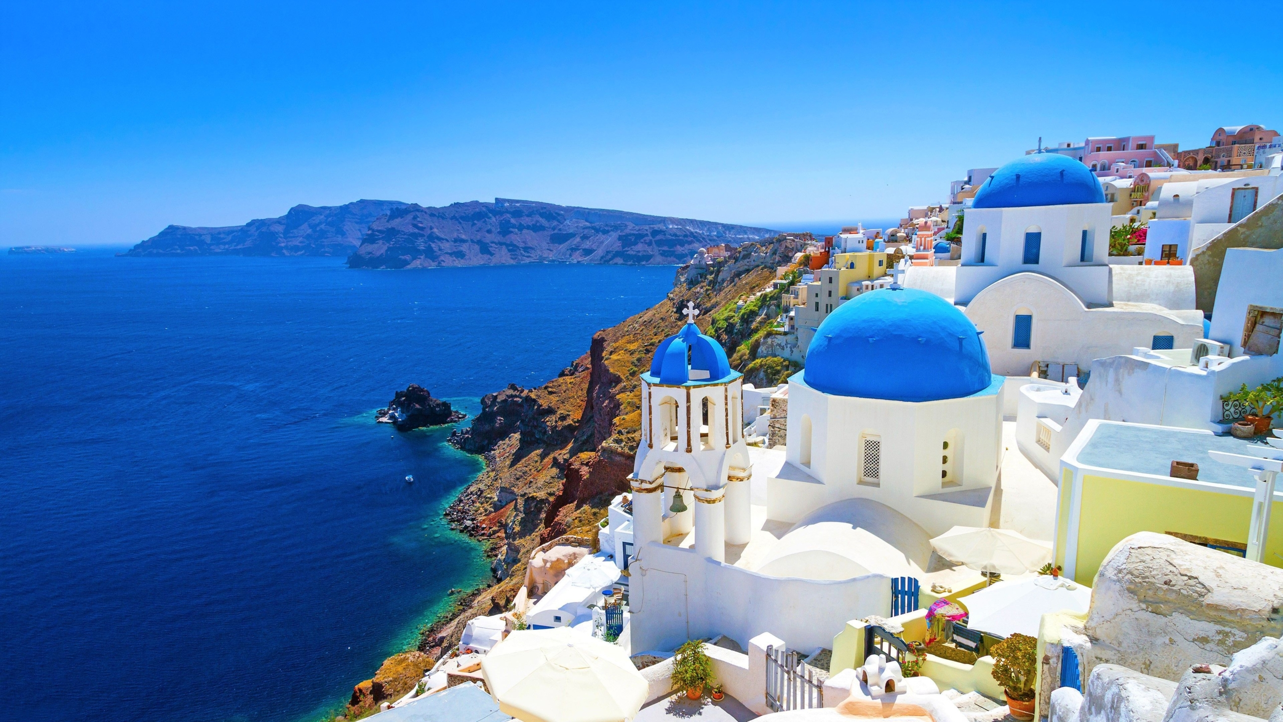 Pictures of Greece Wallpaper – 3D Graphics For Your Desktop