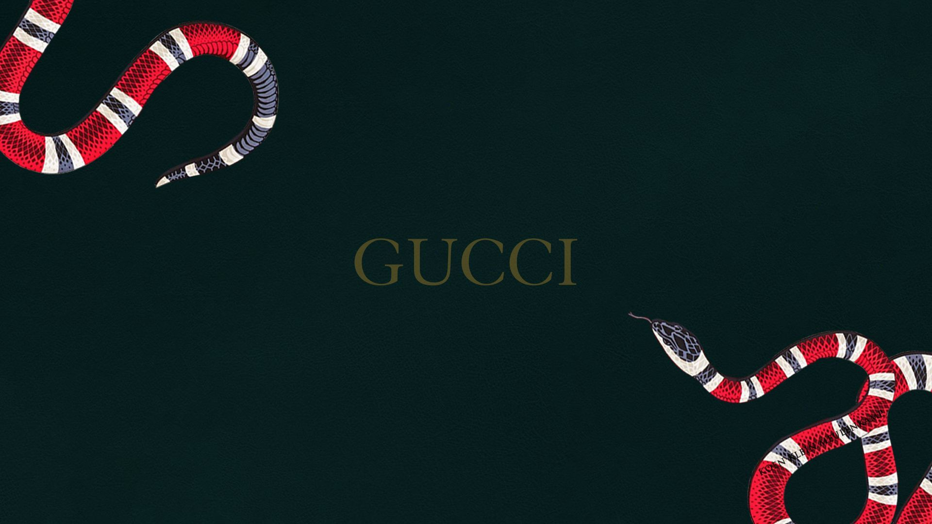 Gucci Snake wallpaper design – Amazing wallpaper Designs