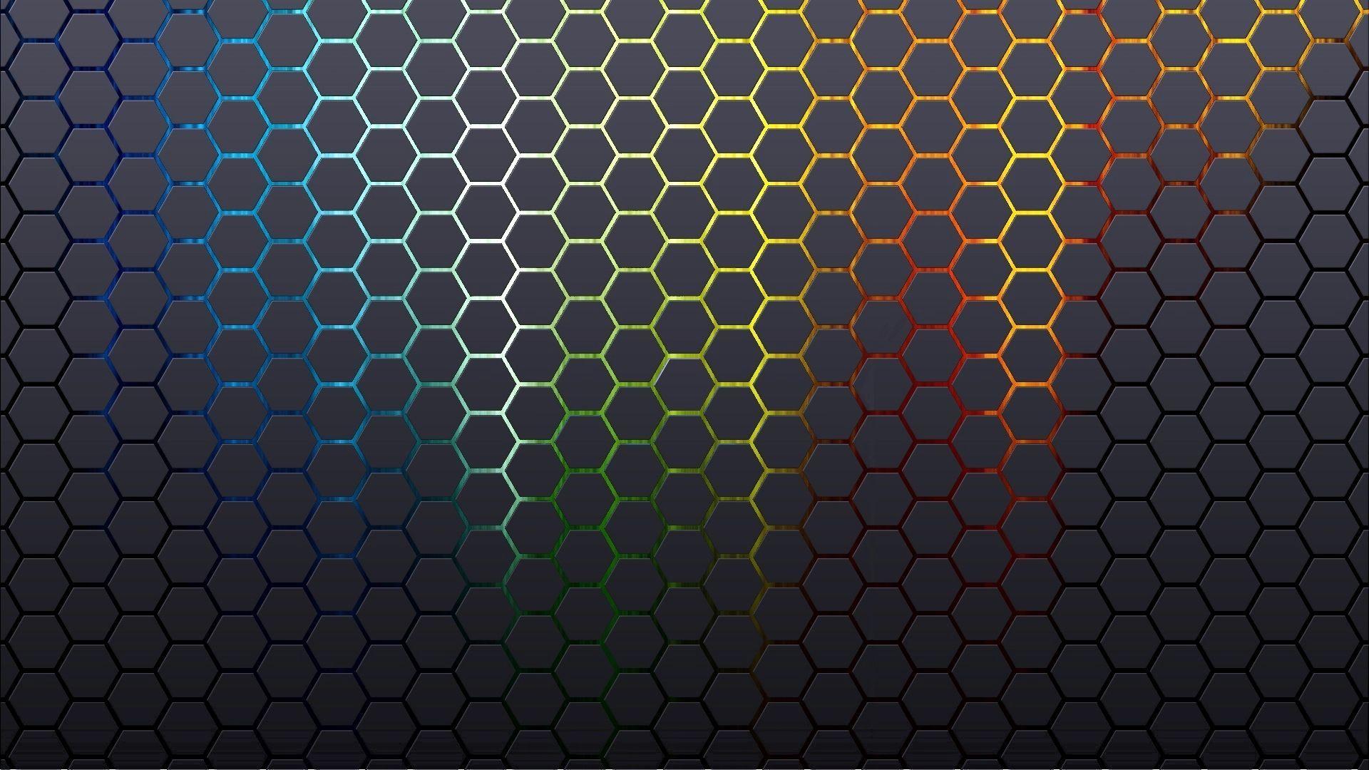 Innovative Honeycomb Wallpaper