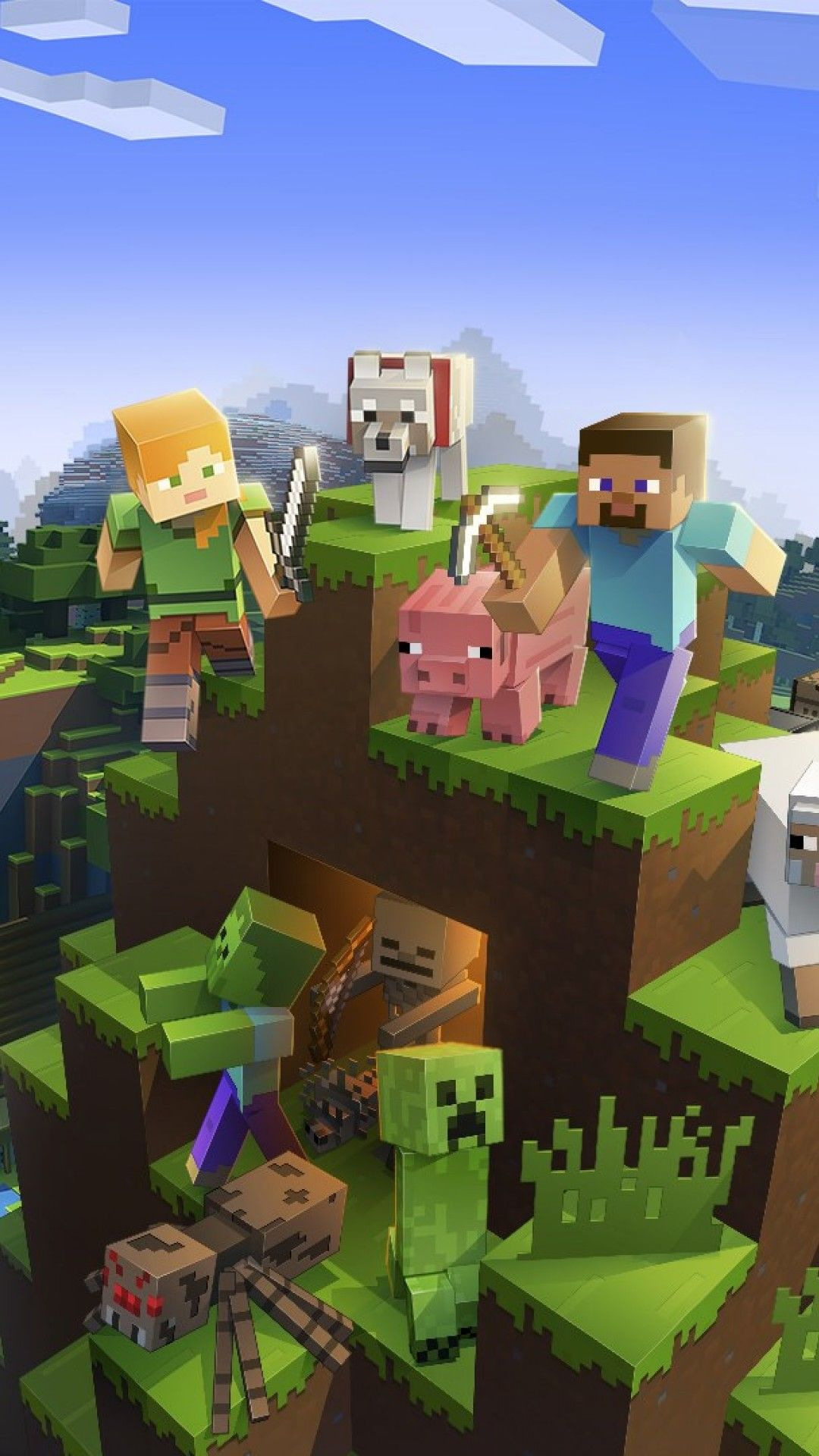 iPhone Minecraft Wallpaper – Inspiring Design For Your iPhone
