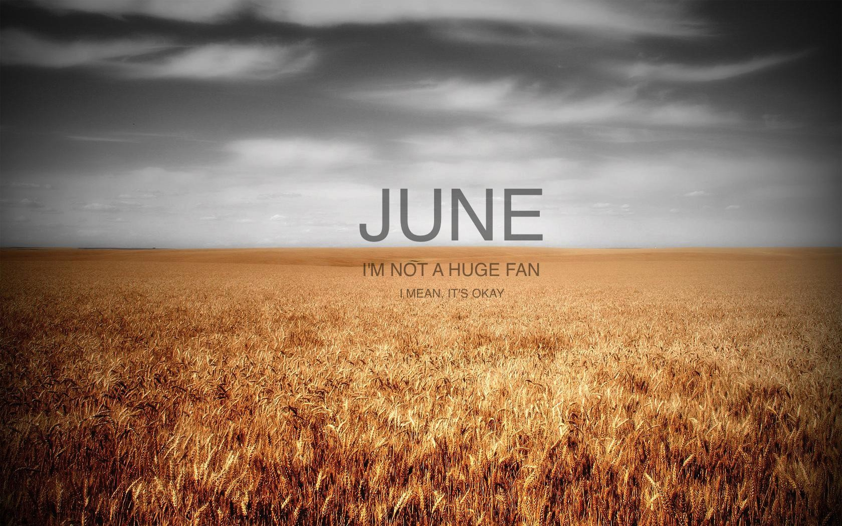 Inspiring June Wallpaper Designs For Your iPhone Or Android
