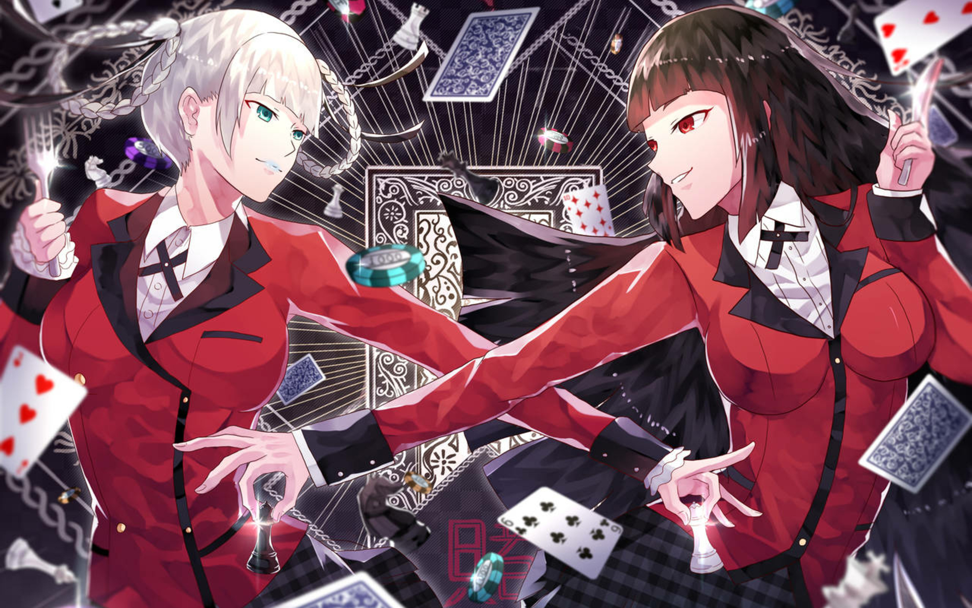 Give Your Computer a Kakegurui Picture design