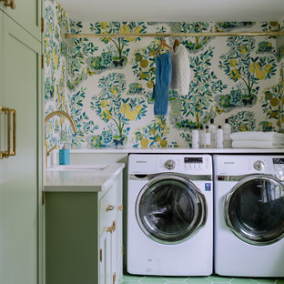 Wallpapering Your Laundry Room – Picture designs For the Laundry Room
