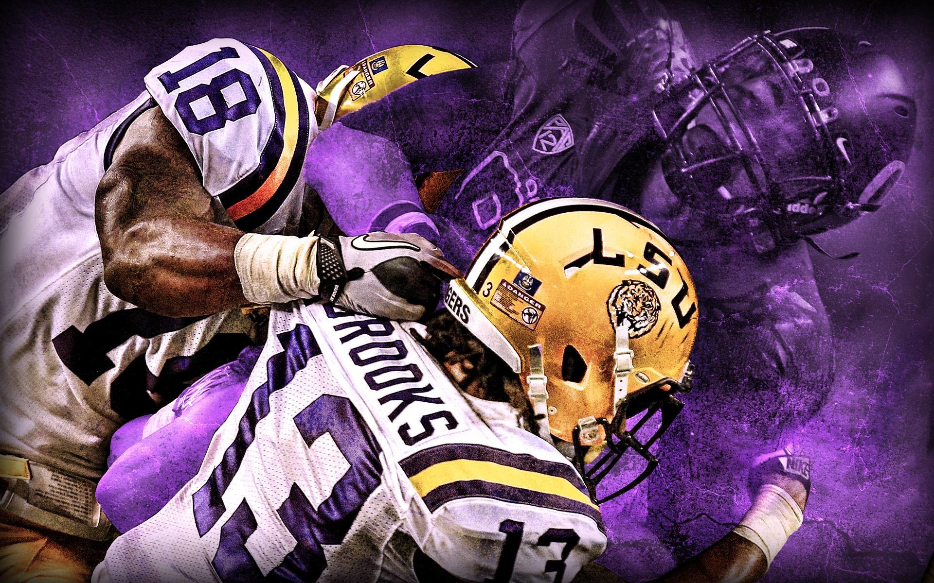 Attractive LSU Football Wallpaper