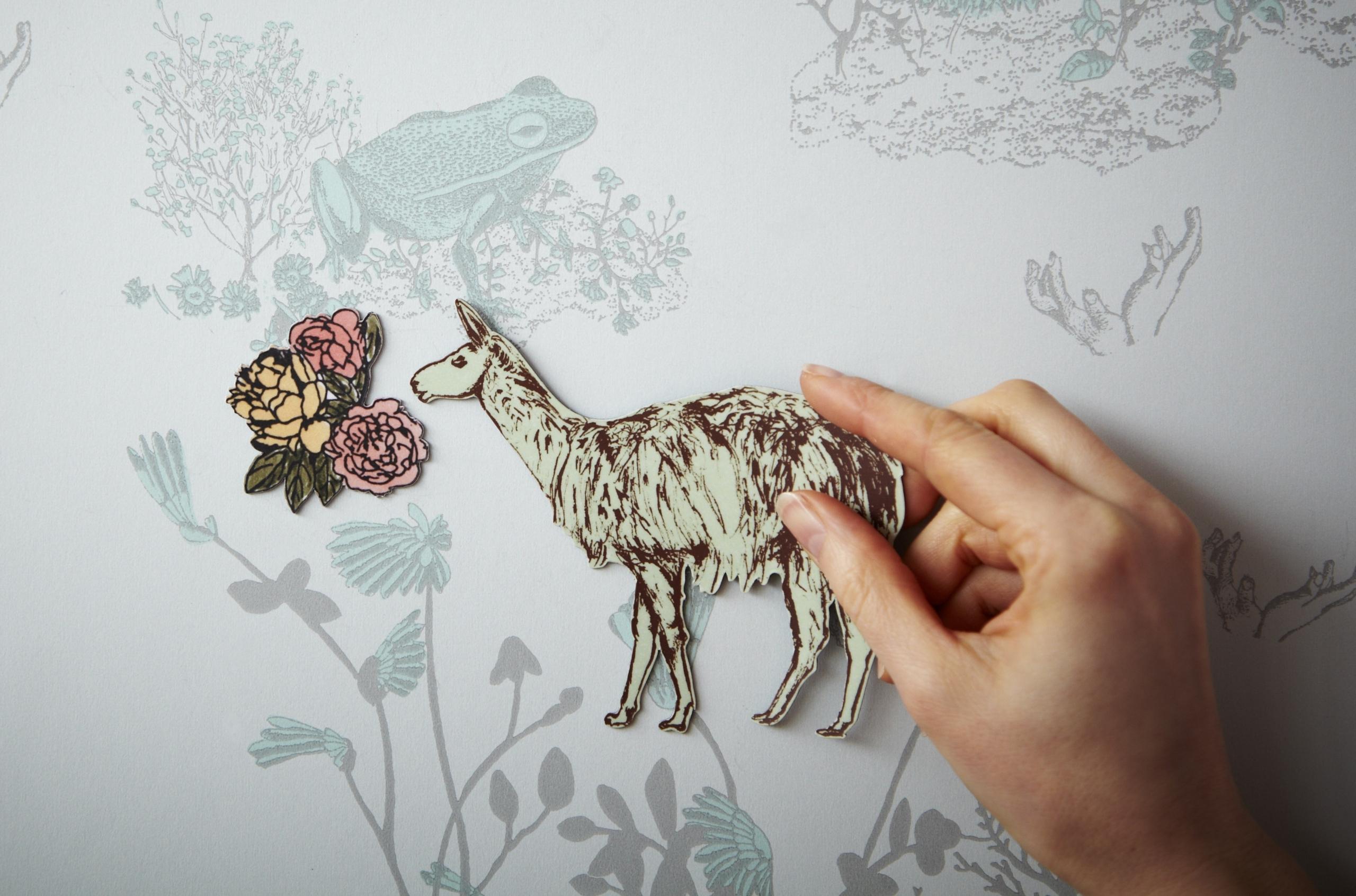 Magnetic wallpaper – best wallpaper design ideas