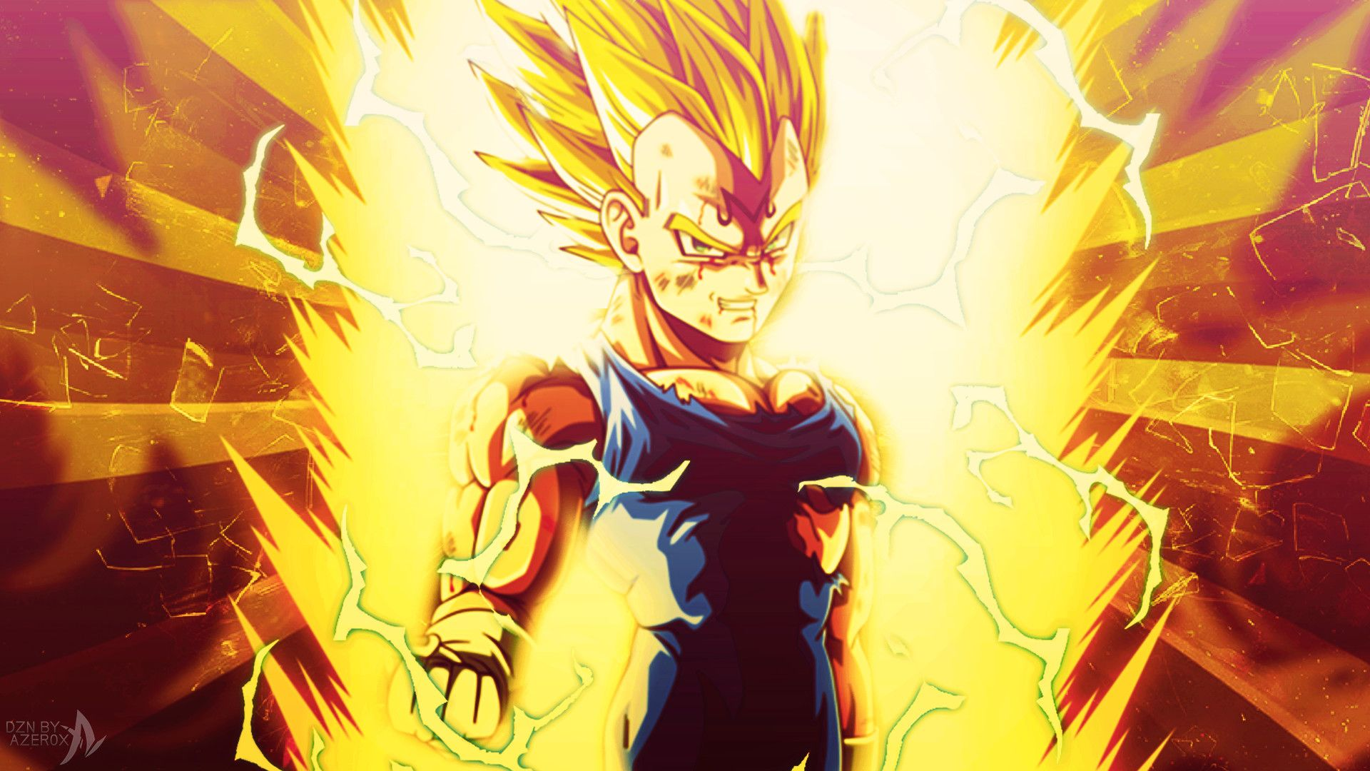 Majin Vegeta Wallpaper – A Beautiful And Comfortable Garden wallpaper Design