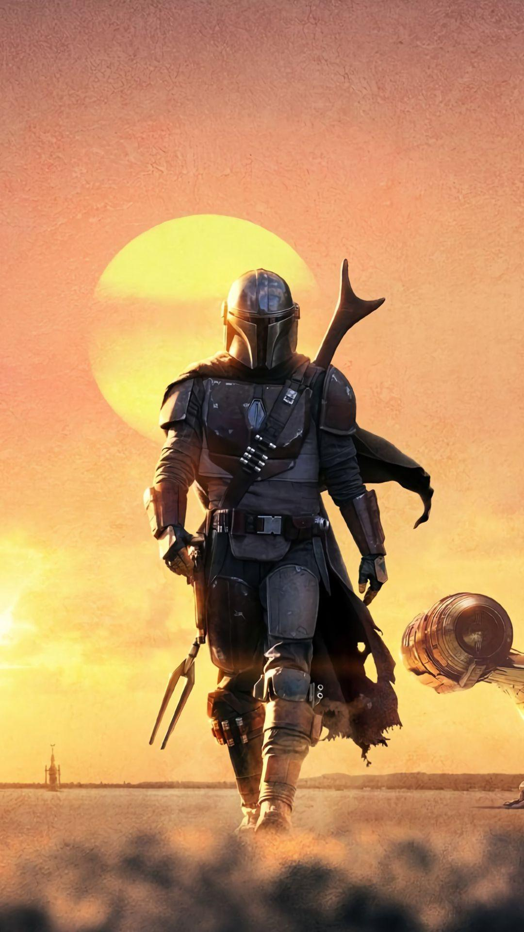 Mandalorian iPhone Wallpaper – Use Good background To Maintain Your iPhone's Beauty
