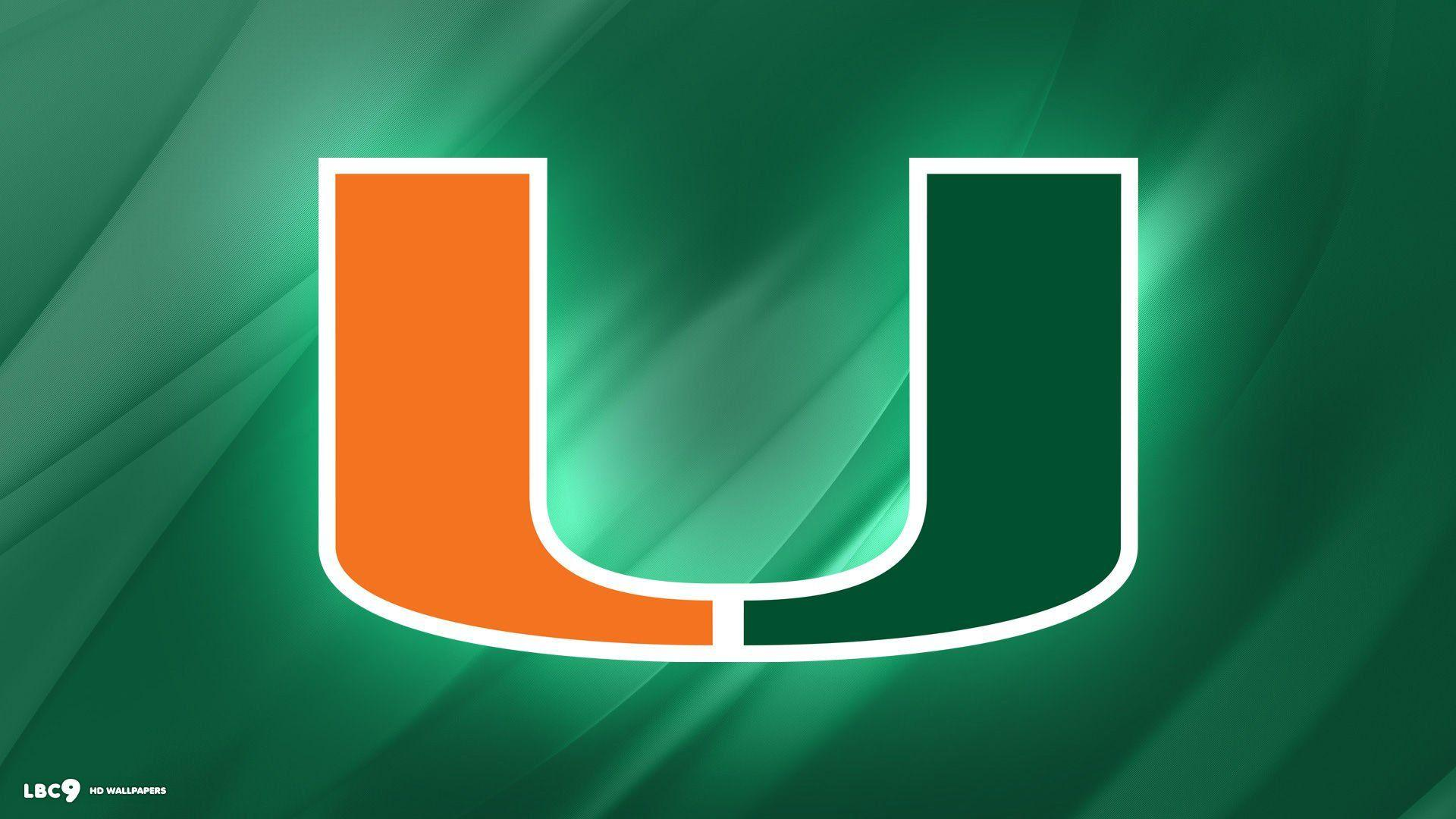 Global Miami Hurricanes Wallpaper Designs and Colors