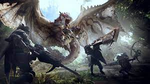 Experience The Thrills And Excitement With Monster Hunter Wallpaper