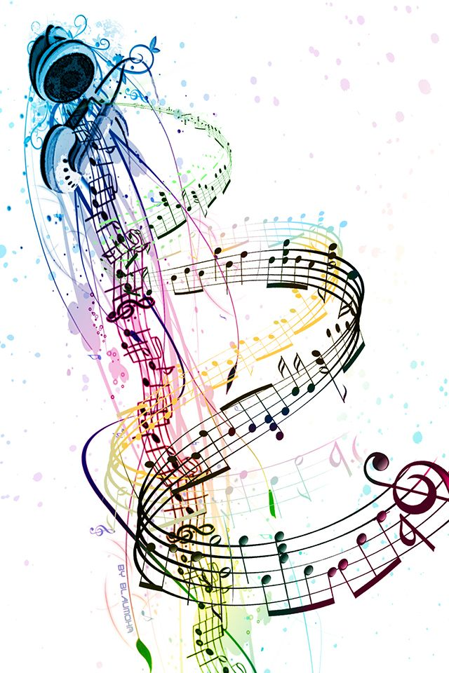 Music Notes Picture design – Create Your Own Personal Wallpaper