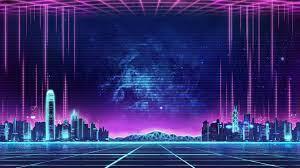 Famous Neon City Wallpaper