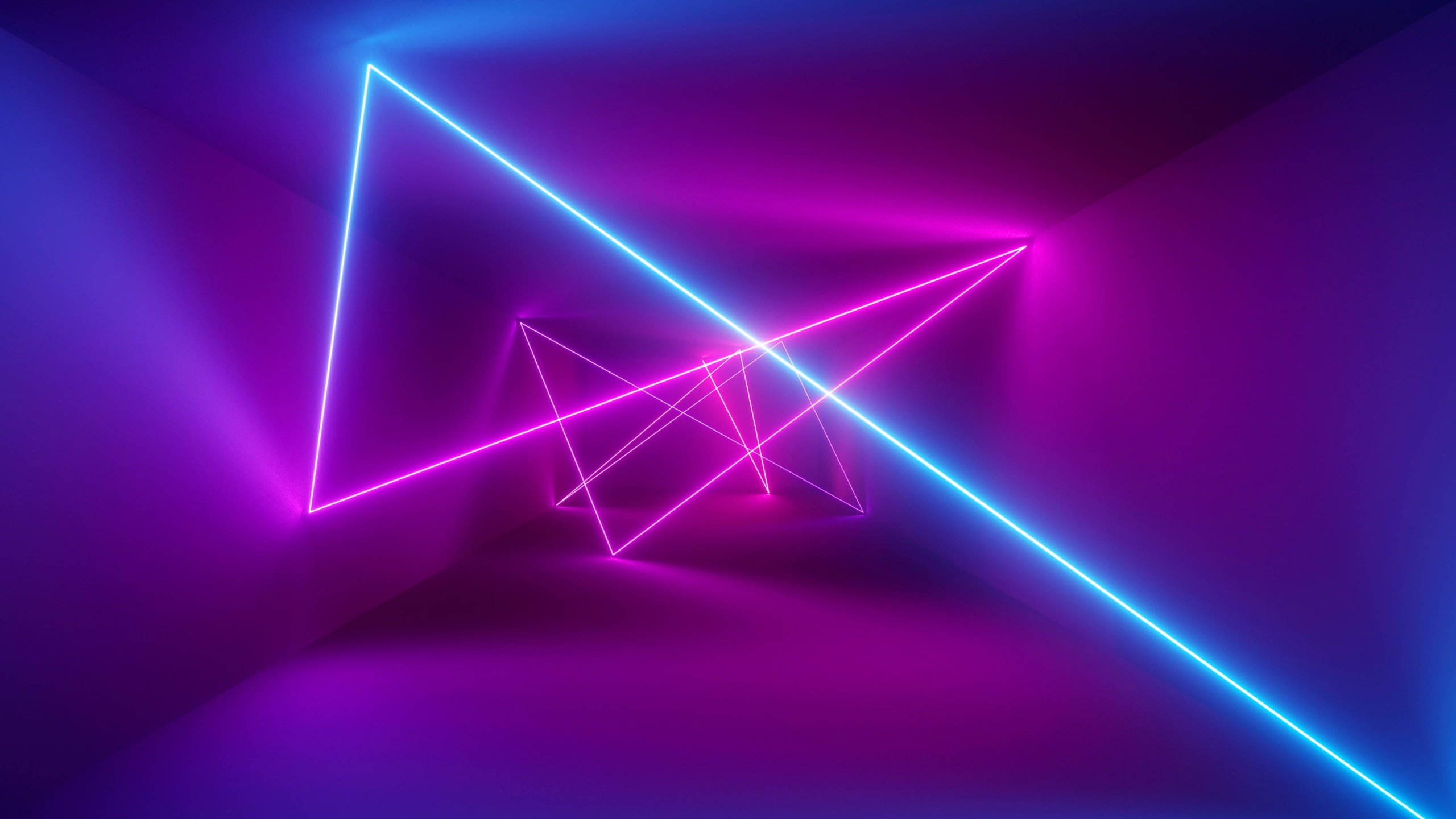 Give Your Walls a New Look With Neon Lights Wallpaper