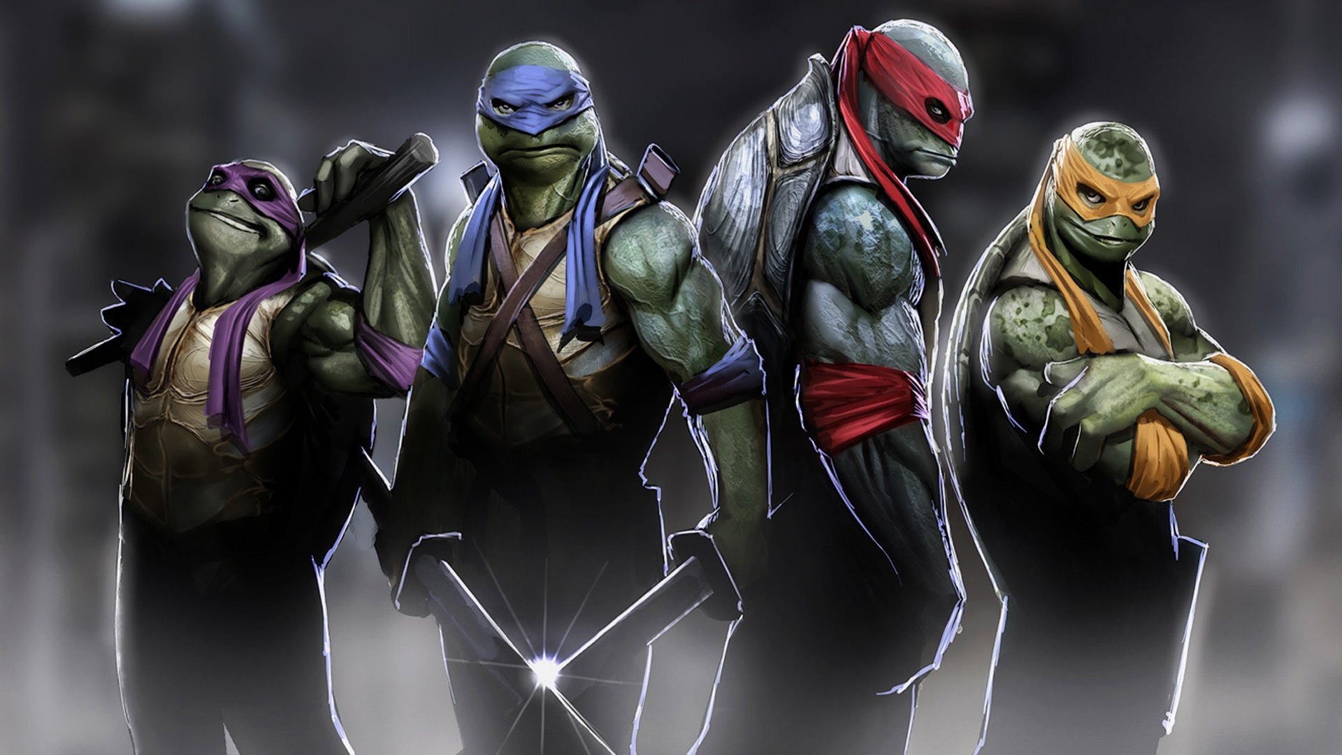 Create Your Own Ninja Turtles Wallpaper design ideas for your computer