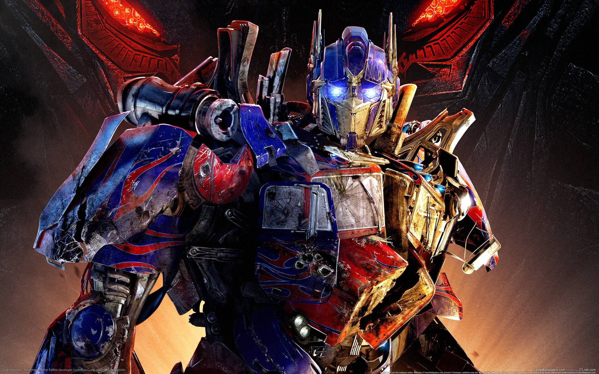 A Quick Glance at the Features of the Optimus Prime Wallpaper