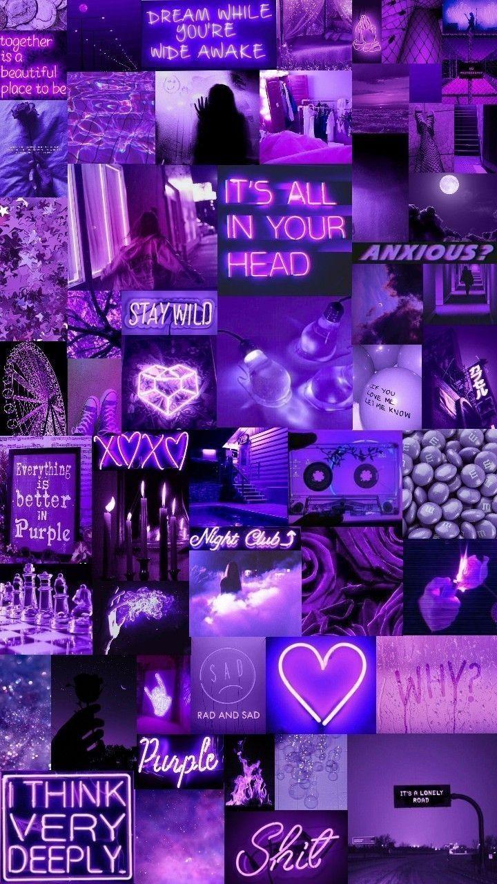 best Purple Wallpaper Aesthetic design ideas for your computer