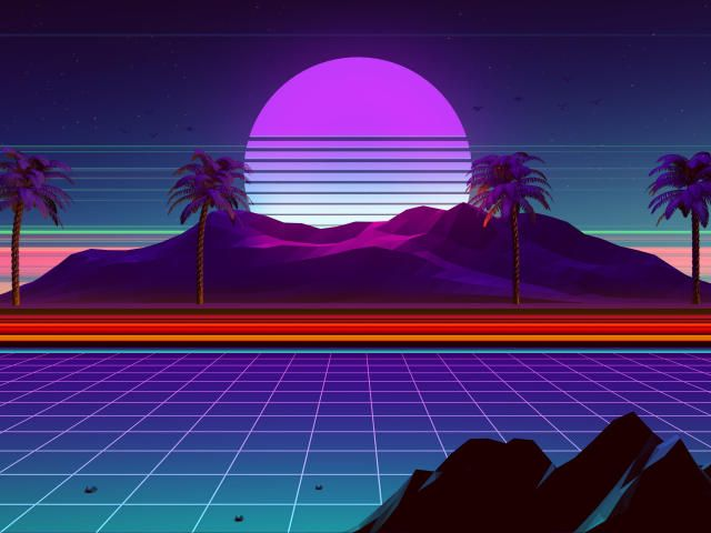 Create Beautiful Results With Retrowave Wallpaper