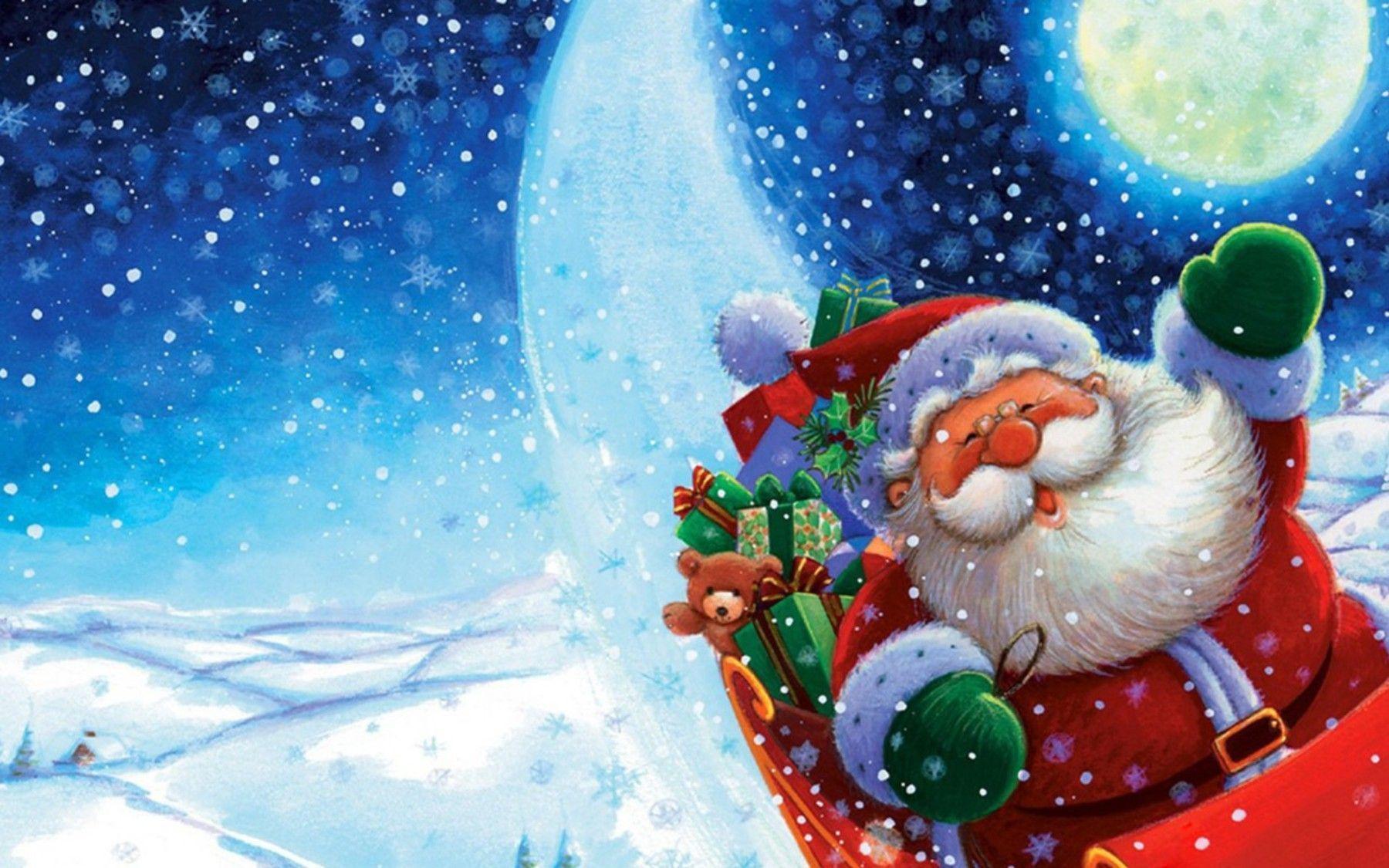 Best Santa Wallpaper Decorations – Fantastic Wallpaper For Computer