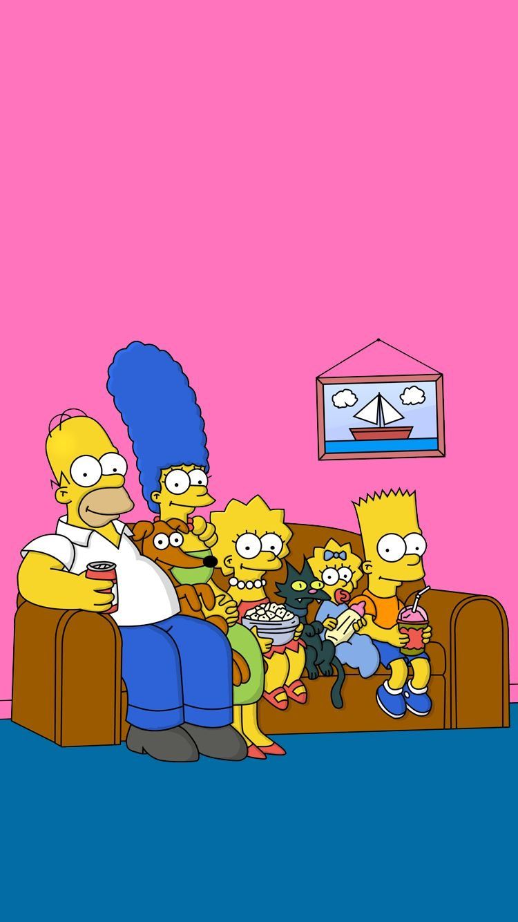 Top 5 Best Simpsons Wallpaper backgrounds – The Ultimate Background for Your iPhone