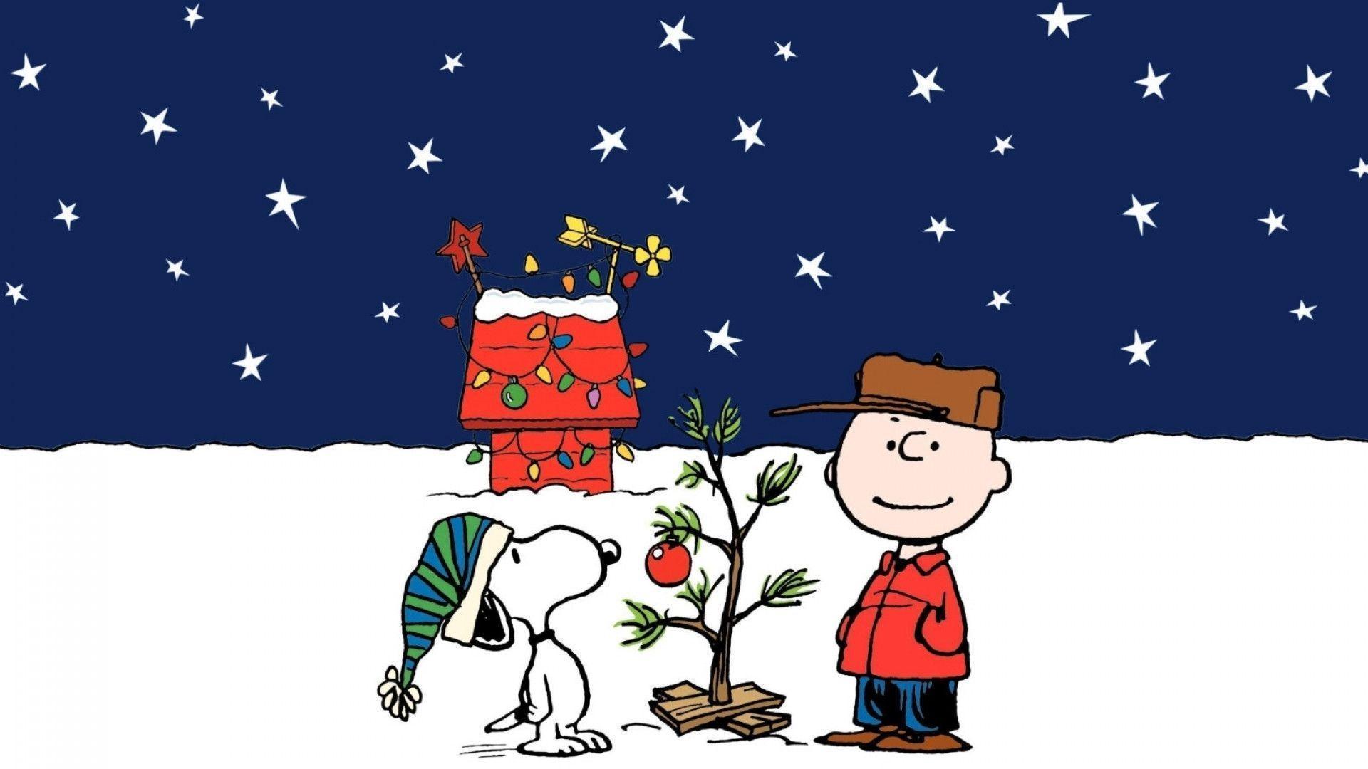 Latest Snoopy Christmas Wallpaper Design