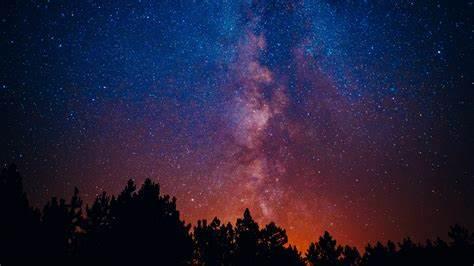 Starry Sky Wallpaper Provides Nice Impression