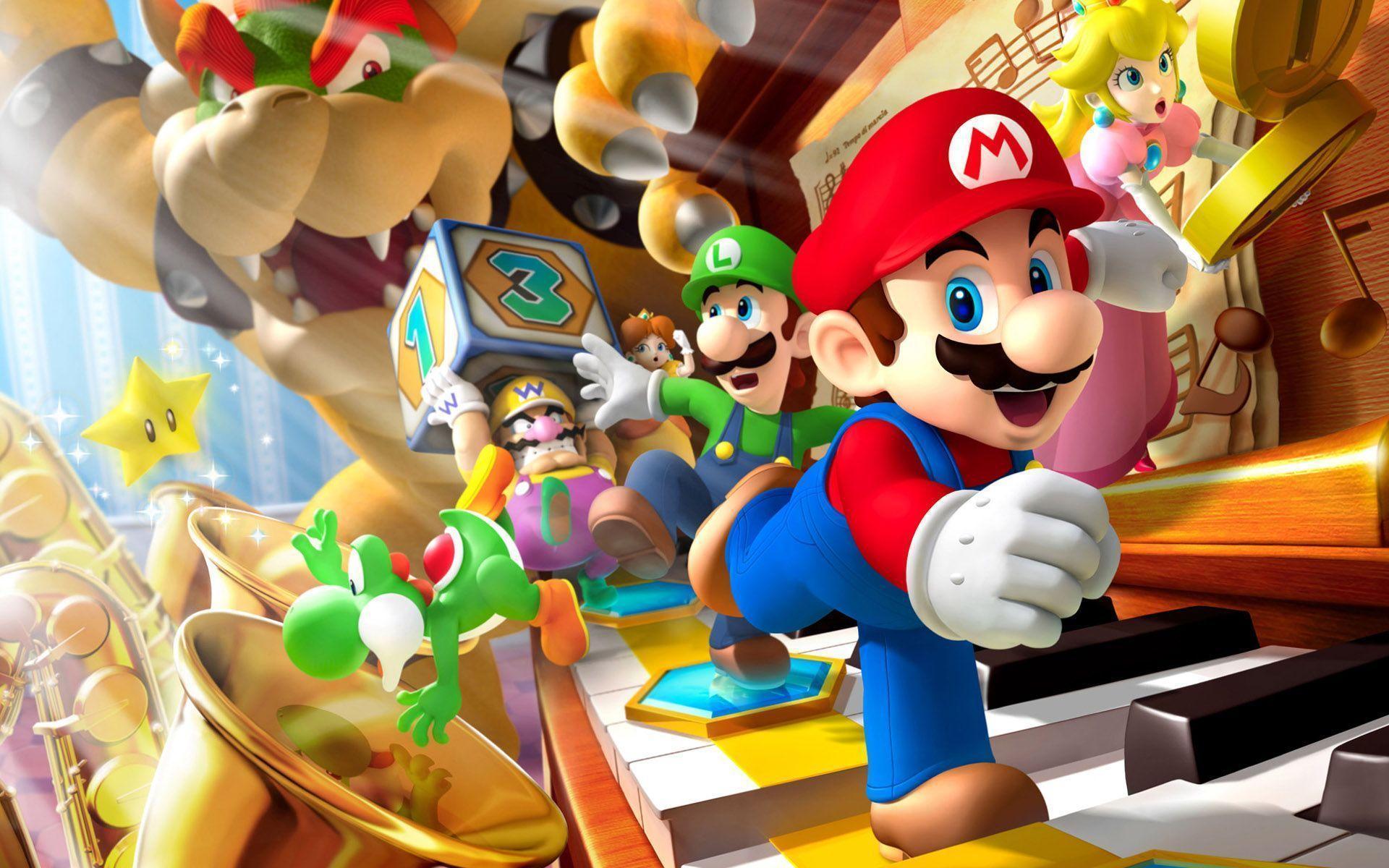 Super Mario Wallpaper – Creativity at Its Best!