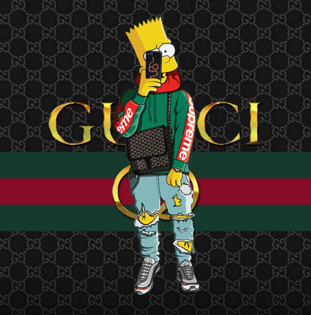 Supreme Gucci wallpaper Decorating Ideas