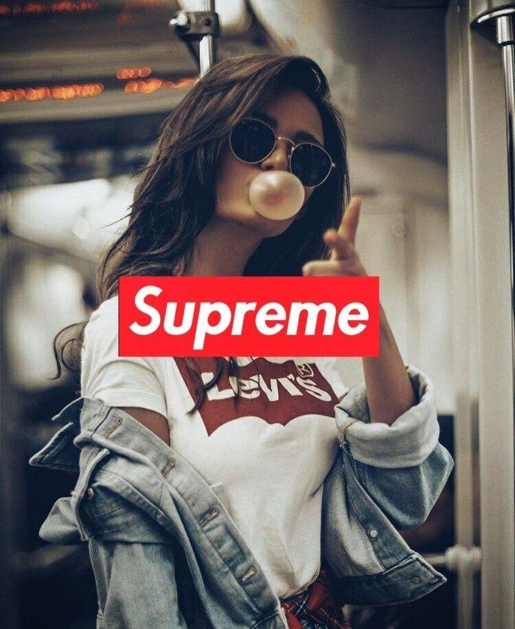 Supreme Wallpaper Girl design ideas