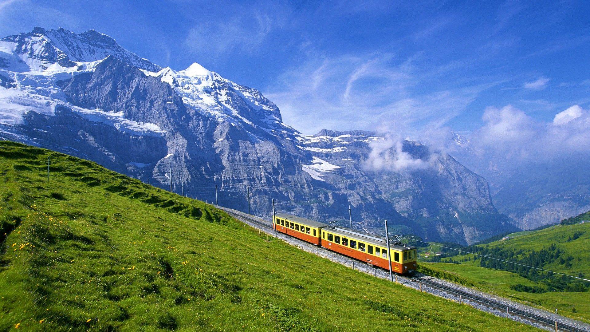 Decorate Your Walls in Switzerland Wallpaper