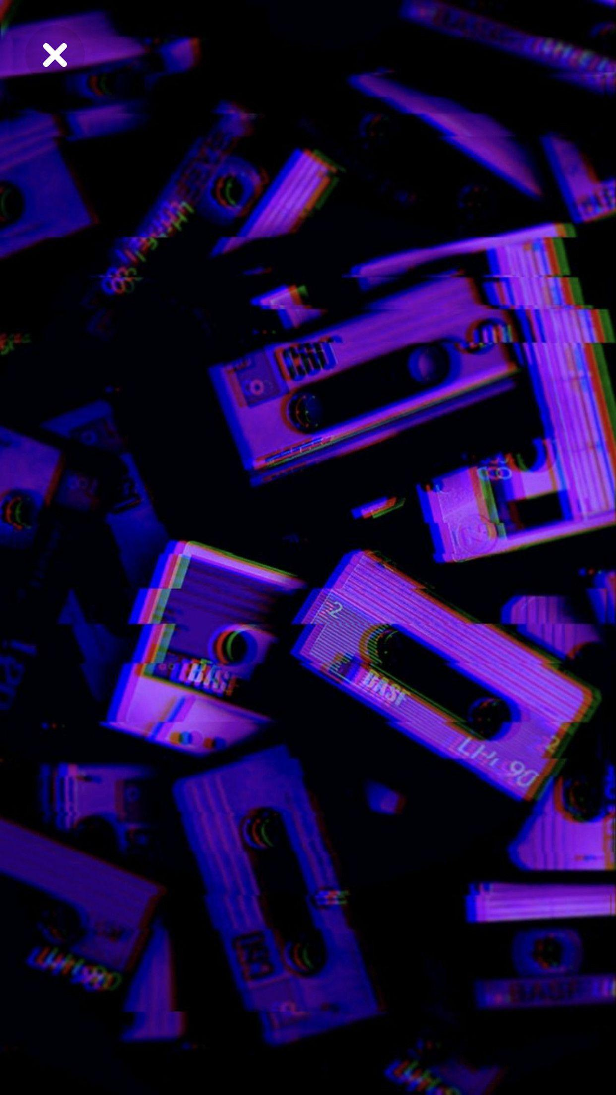 VHS wallpaper is pretty