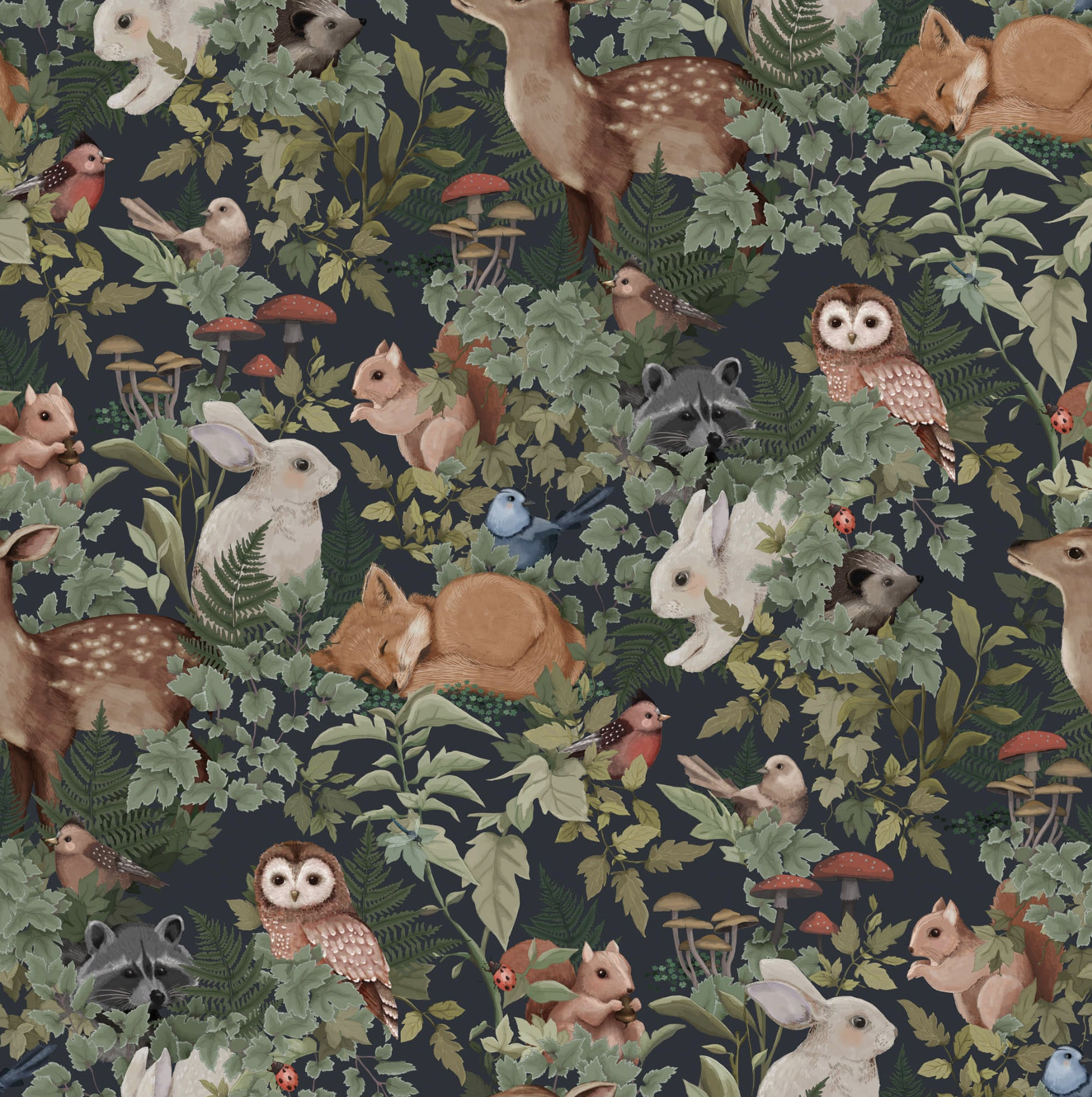 A New Sense of Elegance With Woods wallpaper Design Ideas