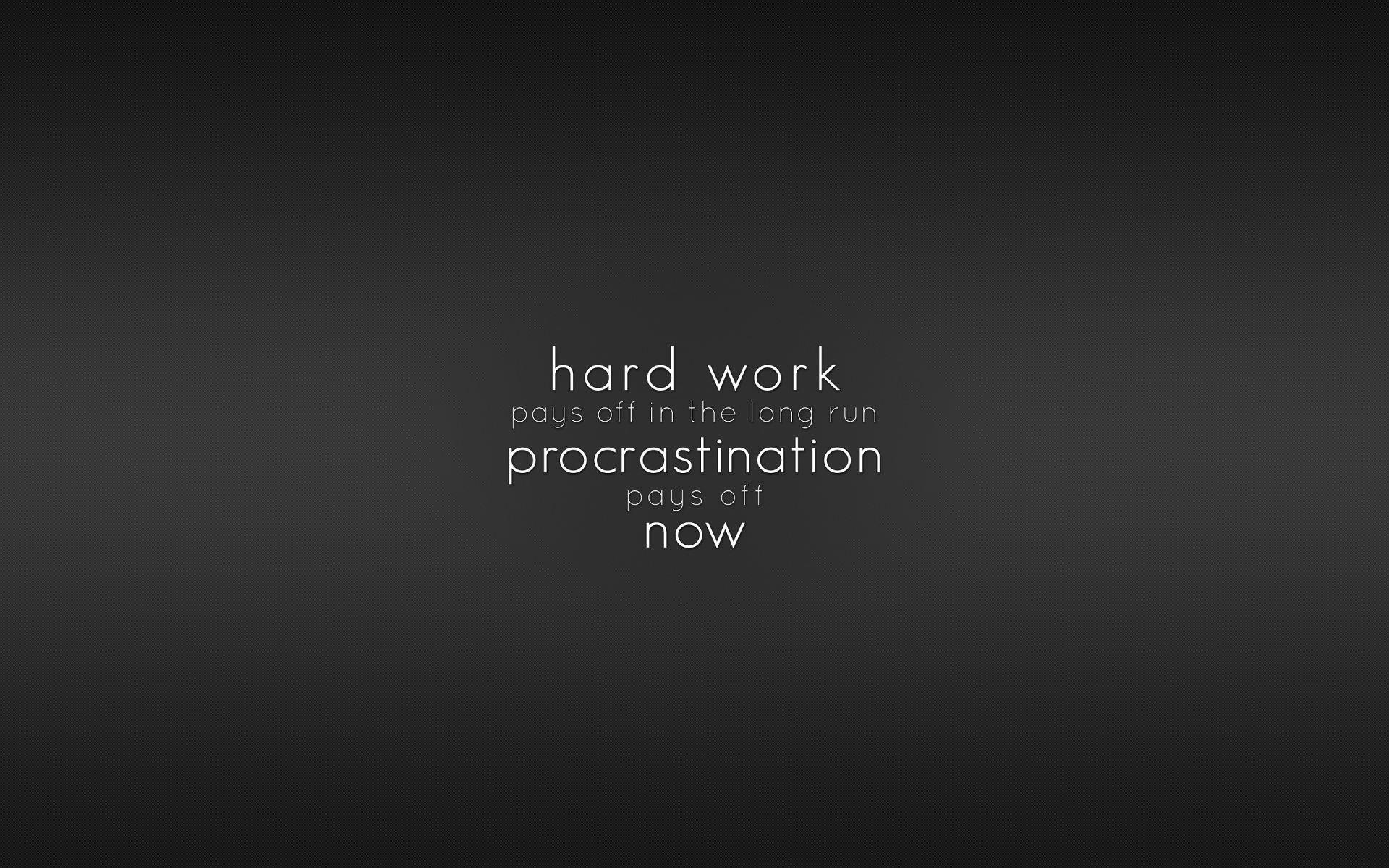 Work Hard wallpaper With Your Own creativeness